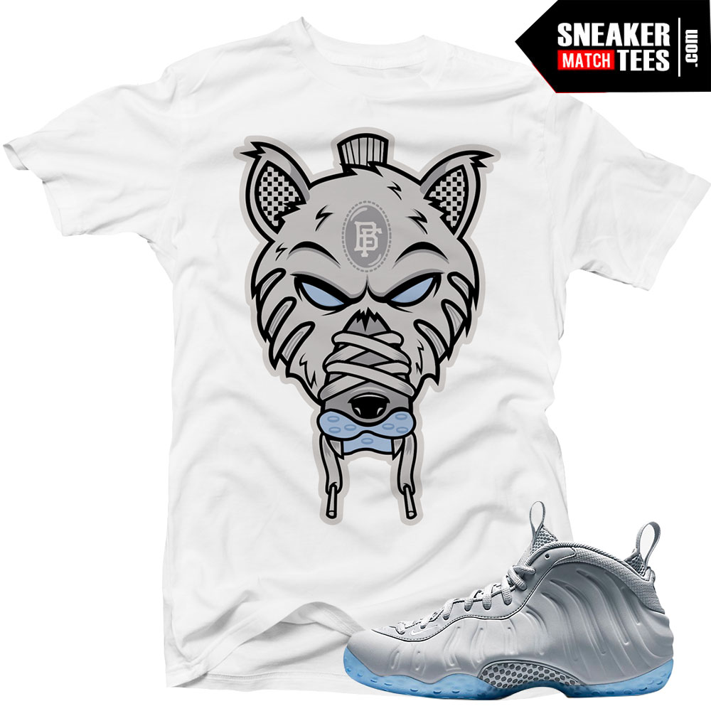 5fd7711da83 Wolf Grey Foams shirts to match