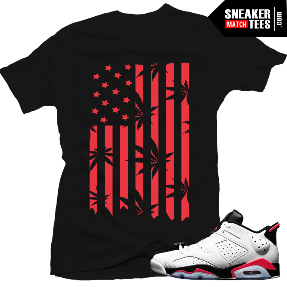 premium selection 988f4 0f072 Jordan 6 low White Infrared shirts to match