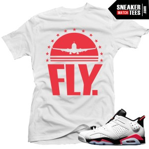 shirts to match infrared 6 low infrared white