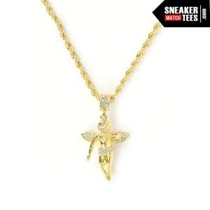 Angel-pendant-fashion-accessories-gold-necklace-pendants