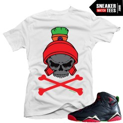 Matching t shirts Marvin the Martian 7s sneaker news