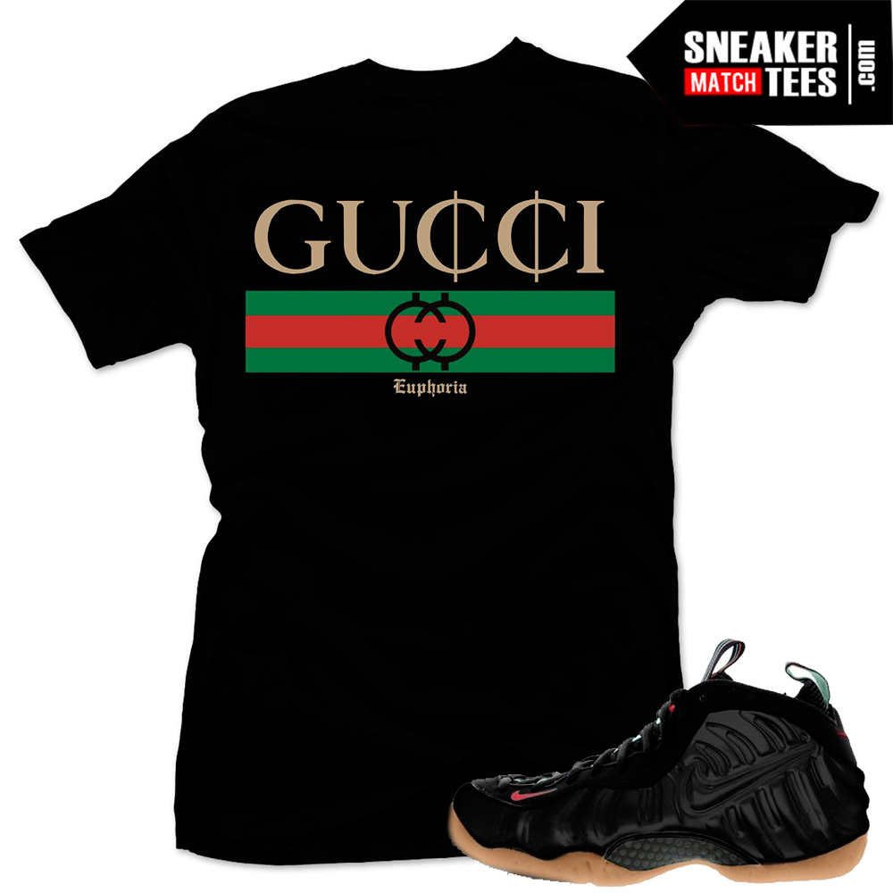 "0f7eae81f2ef1a Gucci Foams Shirt to match ""GuCCi"" Tee Black"