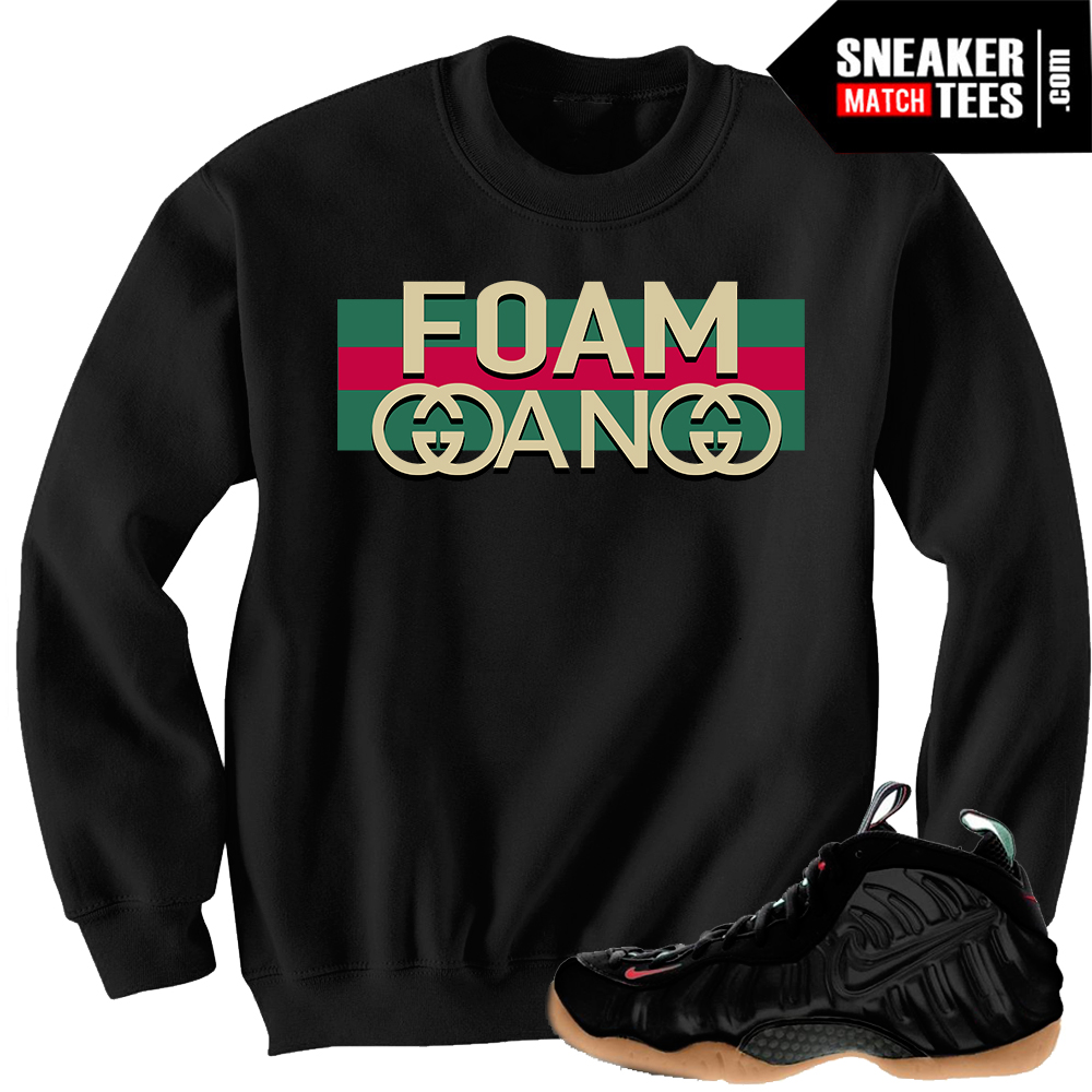 Gucci foams matching Crewneck sweater