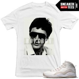 Jordan 10s OVO sneaker tees matching t shirts