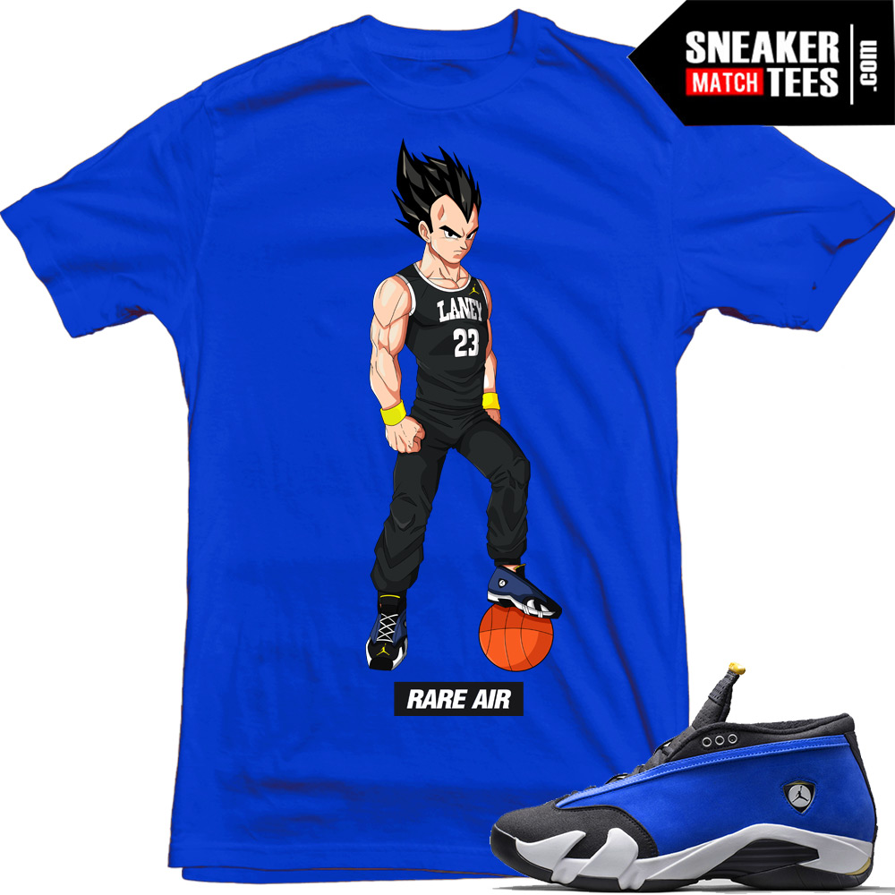 "9562f8ab3af Laney 14s Low shirts to match ""Laney Vegeta"" Royal Tee 