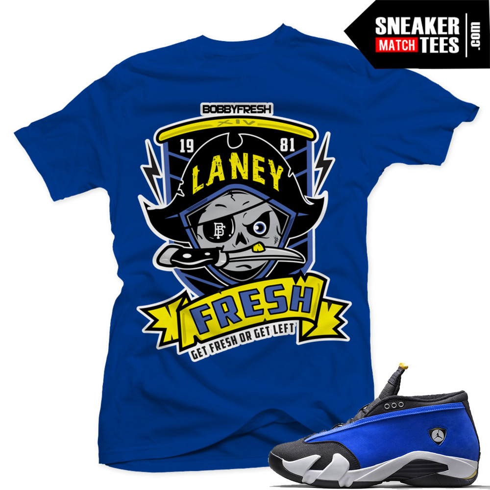 "2b51a500bf30 Laney 14s Low shirts to match ""Laney Pirate"""