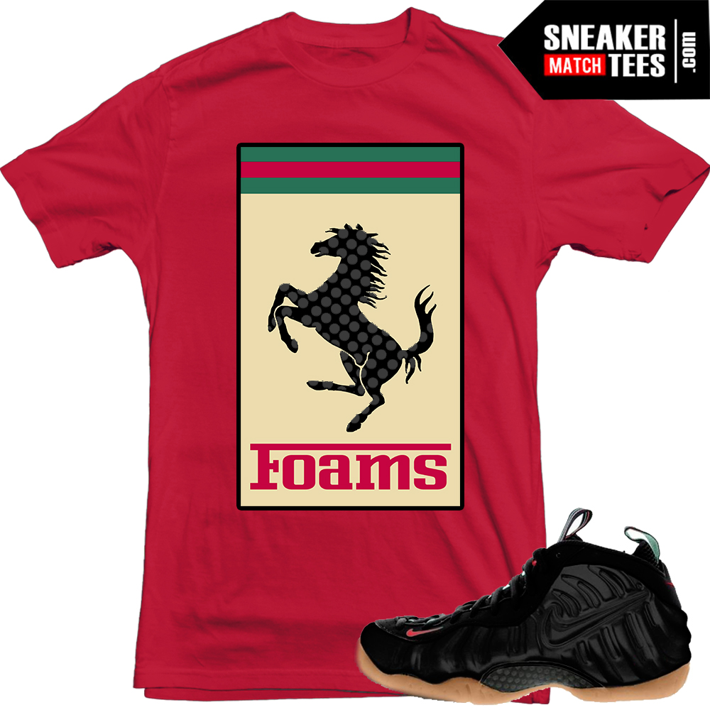 Nike Foamposite Gucci Matching shirts