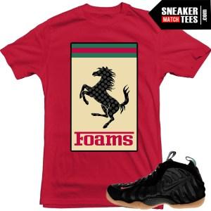 Nike Foamposite Gucci Matching shirts