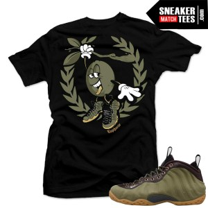 Nike-Foamposite-Olive-shirts