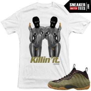 Olive-foams-matching-Nike-shirts