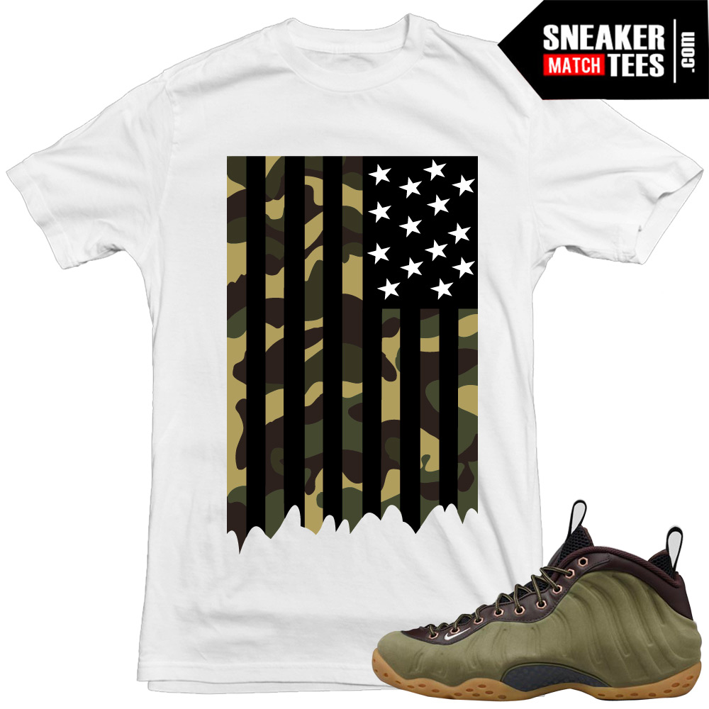 the best attitude 0d9ff 02e30 Nike Foams Olive Shirts to match Sneakers