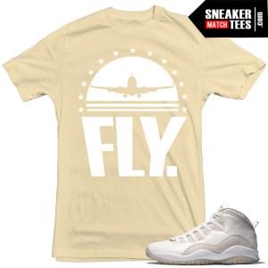Sneaker Match Tees Jordan 10s OVO sneaker tees