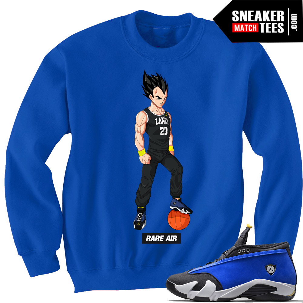 bb8823498daf76 crewneck-sweater-match-sneakers-Jordan-14-laney-lows