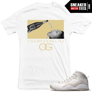tshirts to match OVO 10s