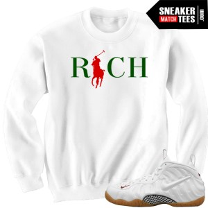 Buy sweater to match Gucci Foamposite white