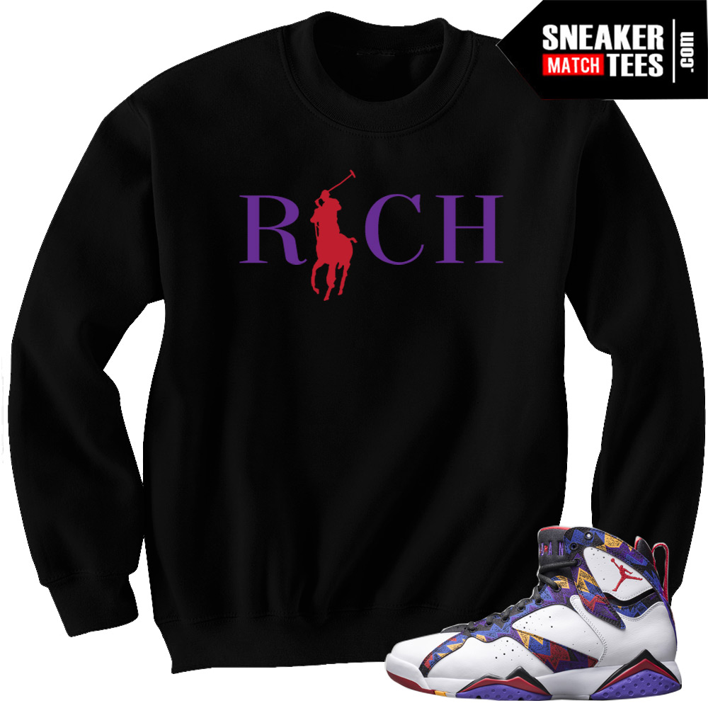 22178345a55 Sweater 7s Jordan Retros matching t shirts