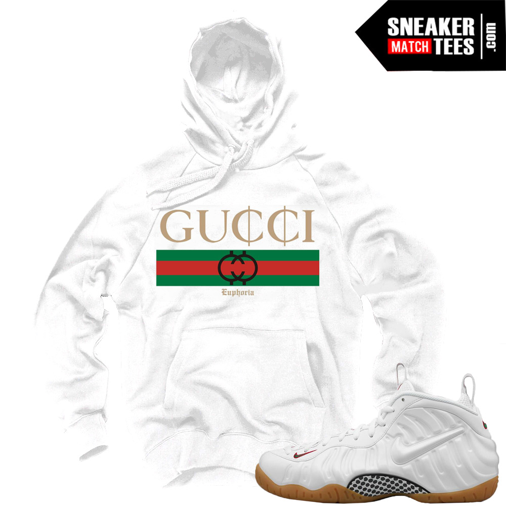 "info for a463f 9ef25 Gucci Foams White Sweatshirts to match ""GUCCI"" Hoodie White"