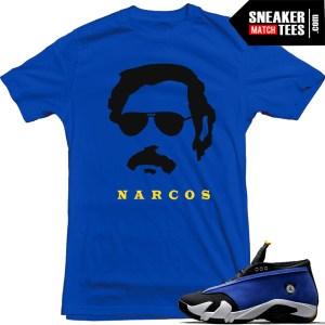 Narcos-t-shirt-match-Laney-14s-Jordan-Retros