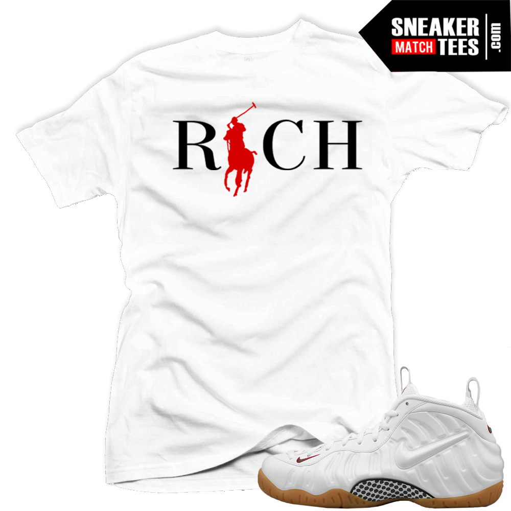 Sneaker Tees Match Gucci Foams white