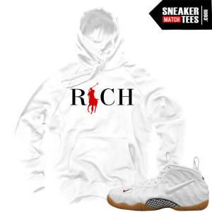 Sweaters to match Foamposite Gucci White