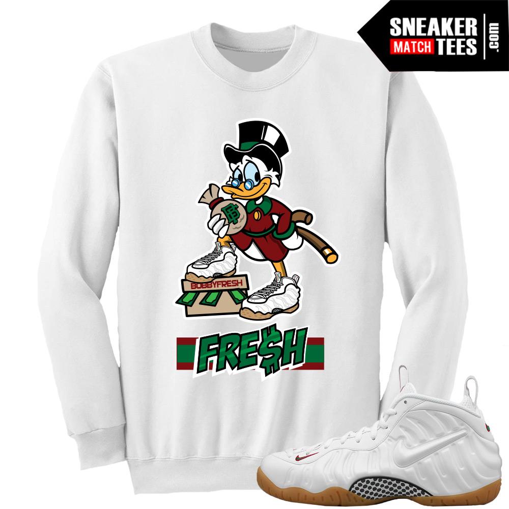 "9e41b987be2d Gucci Foams White Sweatshirts to match ""Fresh Scrooge"" Crewneck White"