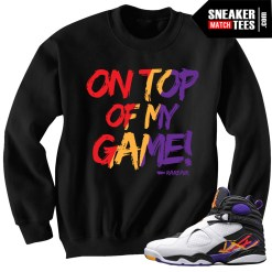 Three Peat 8s t shirts match Sneakers