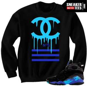 Aqua 8 matching clothing Crewneck Sweater