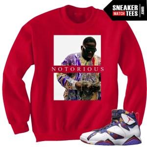 Jordan 7 Sweater matching crewneck sweater t shirt