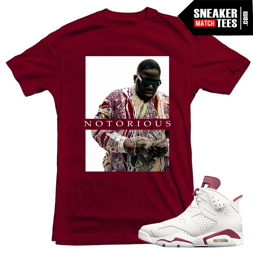 3bb710ff48a Maroon 6s Jordans sneaker tees Streetwear matching Jordan Retros ...