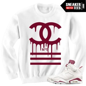 Sweater-to-match-Maroon-6-Jordan-Sneakers