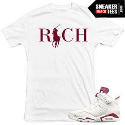 T-shirts-to-match-Maroon-6s-Jordan-Retros