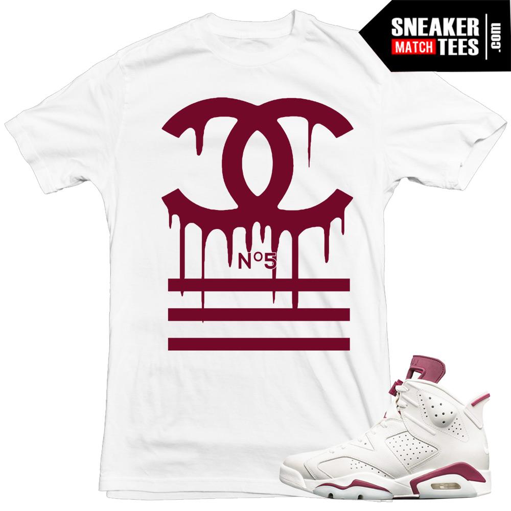 16c908d10ee Maroon 6s Matching Sneaker tees Shirts