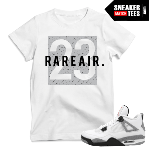 Cement 4s 2016 matching t shirts sneakers