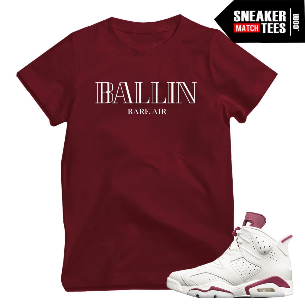 "53eb86dcc7c Maroon 6s match ""Ballin"" shirt"