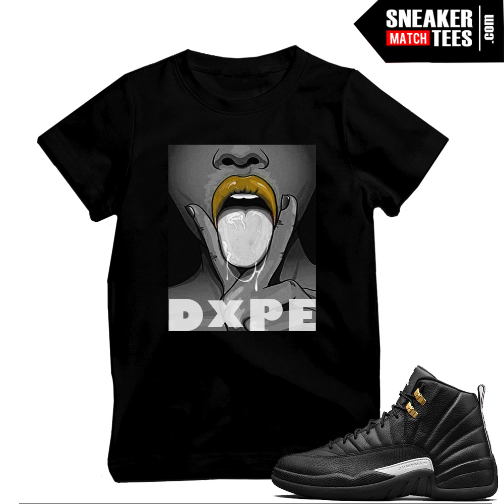 Jordan 12s t shirts that match
