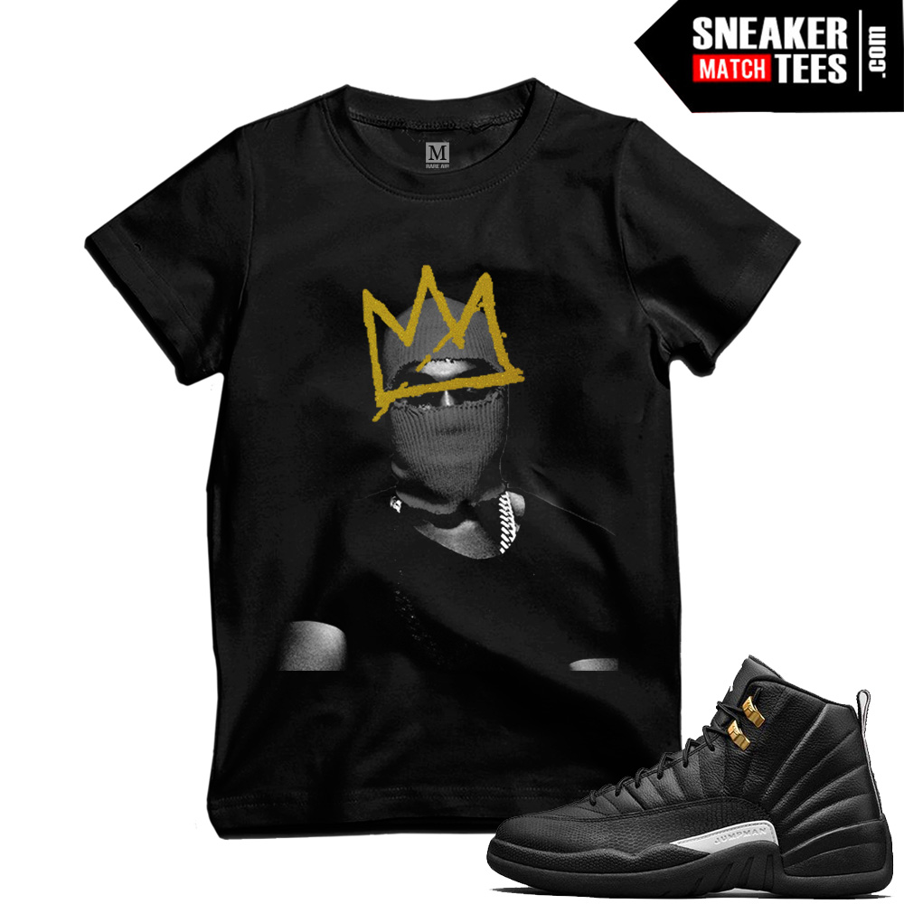 Master 12s T shirts to match Jordans