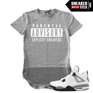 Shirts matching Jordan 4 Cement Retros