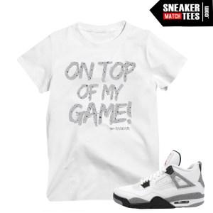 shirts match Jordan 4 Cement OG