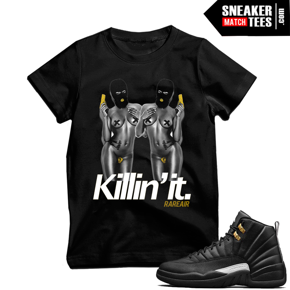 t shirts to match Master 12s Jordans
