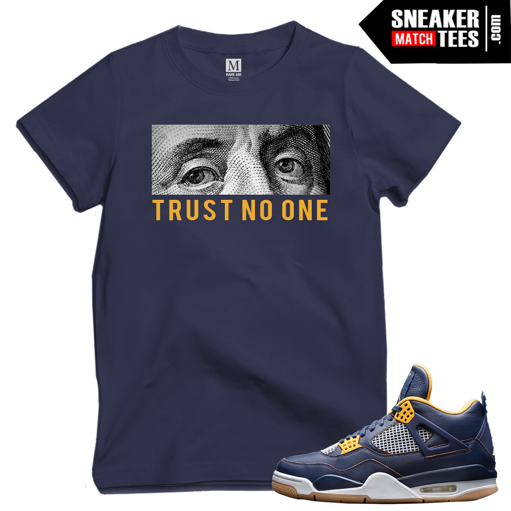 Dunk 4s matching t shirts