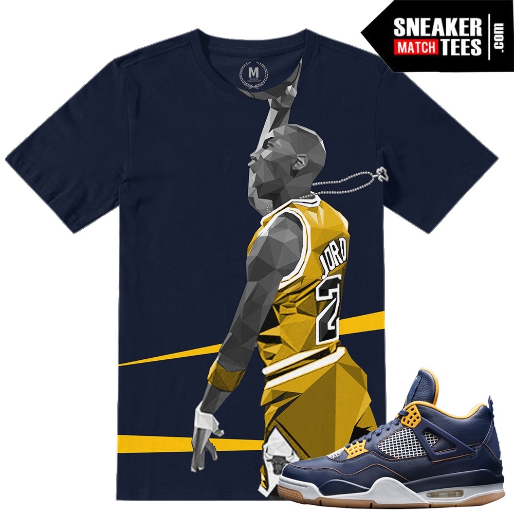 Dunk From above 4s match t shirts