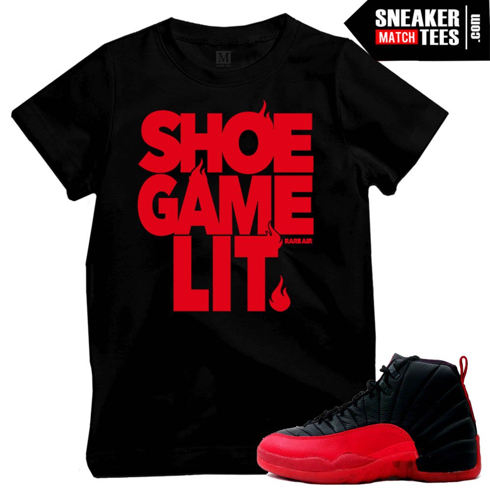 Flu Game 12 matching tee shirts