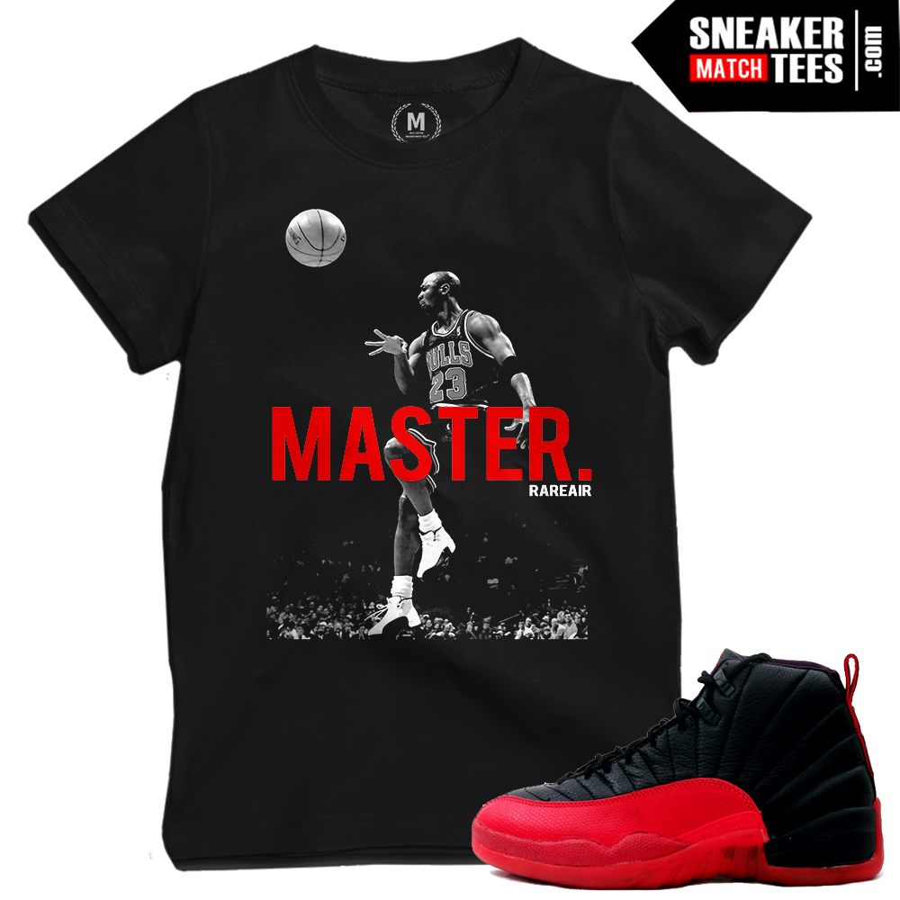 Flu Game 12 shirts matching Jordan 12