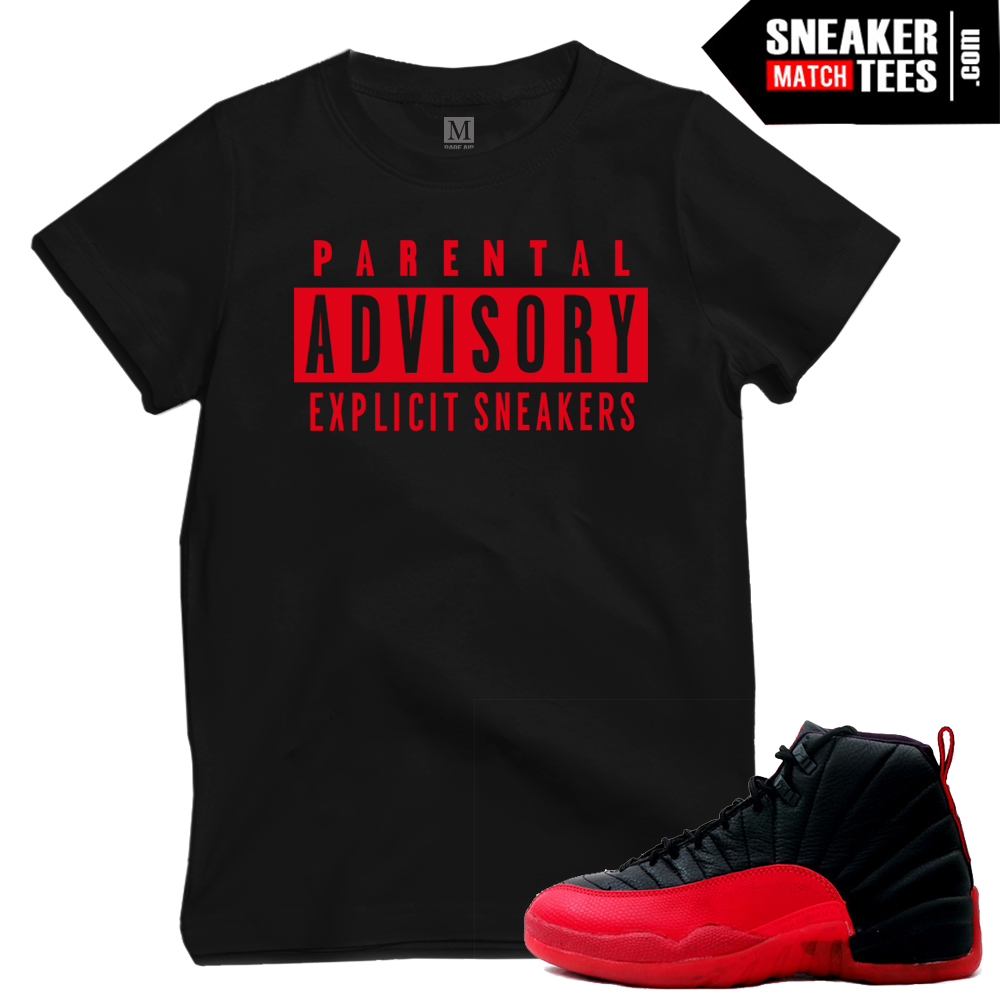 Flu Game 12 t shirts match Jordans