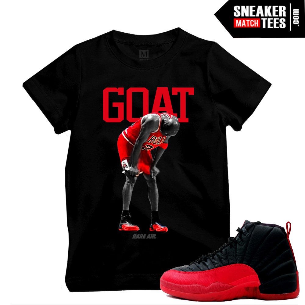 52217dad4506a7 Flu Game 12s t shirts match sneakers