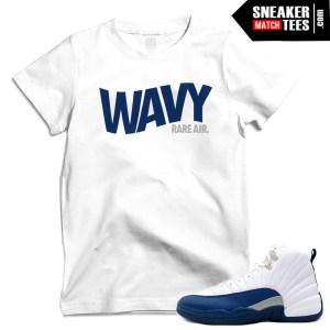 French Blue 12 matching shirt