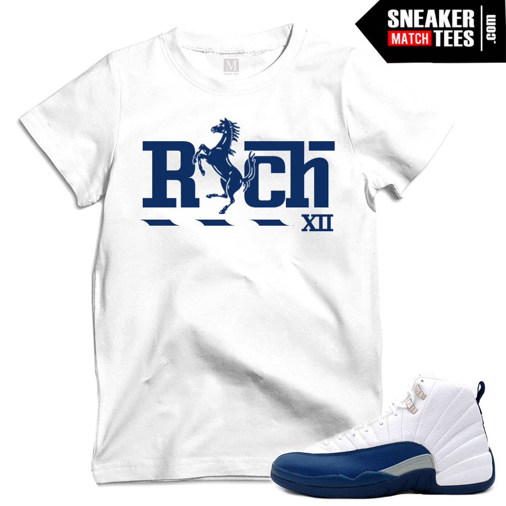 French Blue XII matching t shirts