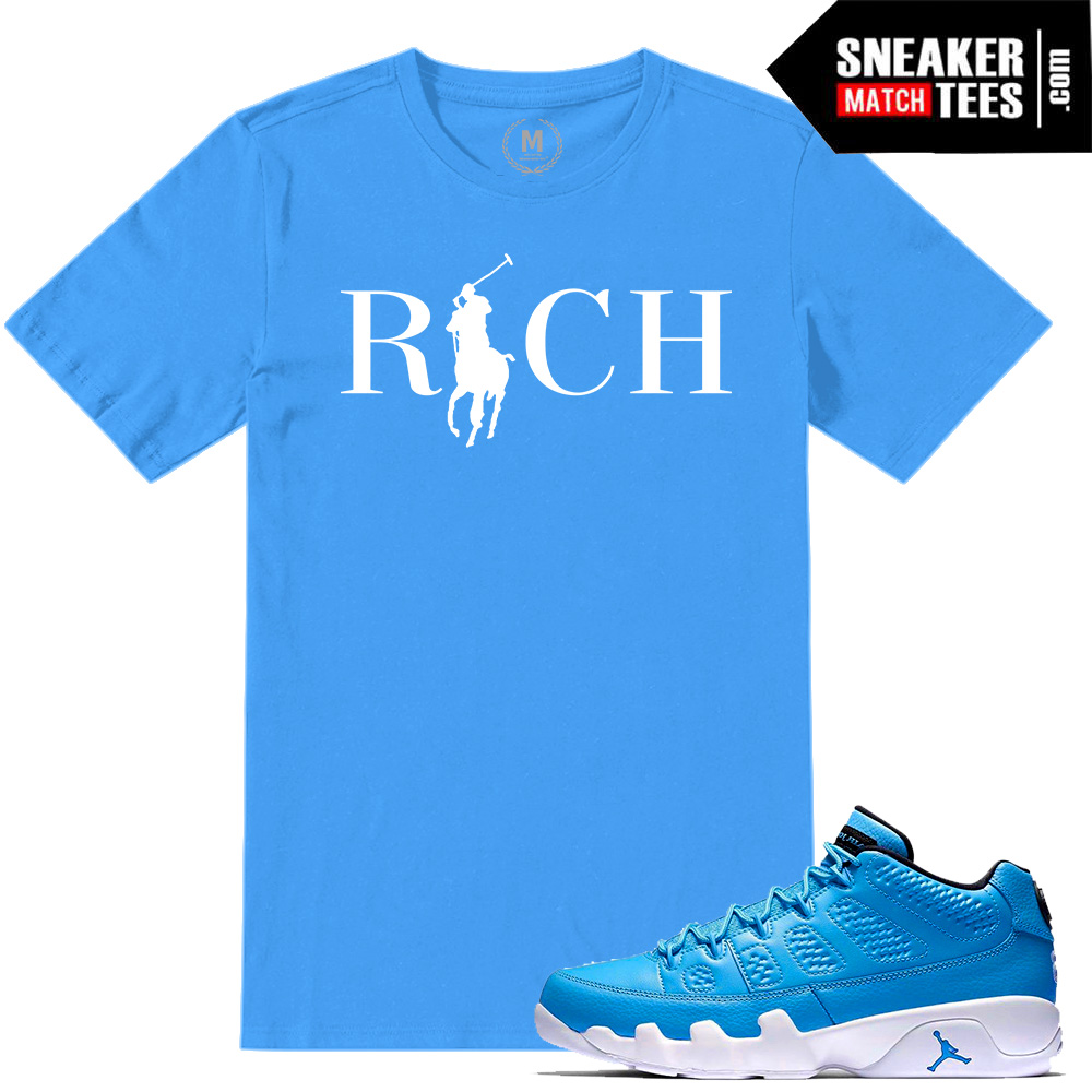 175d6183543 Match Jordan 9 Pantone low tee Shirts | Sneaker Match Tees