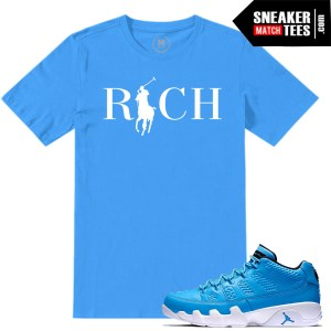 Match Jordan 9 Pantone low tee Shirts