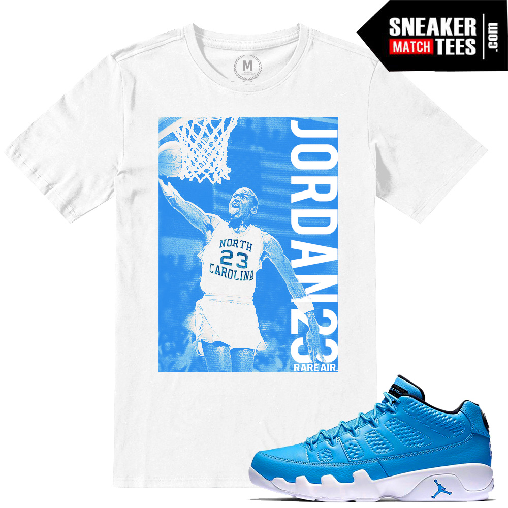 163b51e8a11b Match Sneaker tees shirts Pantone 9 Jordan